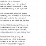Vrije vertaling door mij van een Engelstalig gedicht (Author: Owen Darnell)